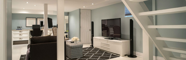 Looking to add mores space? How to partially finish your basement - on a budget!